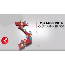 K+ công bố bản quyền phát sóng giải Vleague 2018