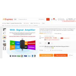 Nhiều quảng cáo không đúng về Anten truyền hình trên Shopee, Lazada, AliExpress