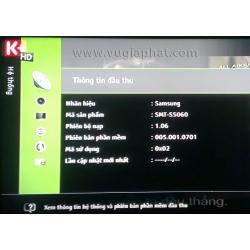 Hướng dẫn cài thêm tần số Transponder (TP) vào đầu thu HD – Samsung