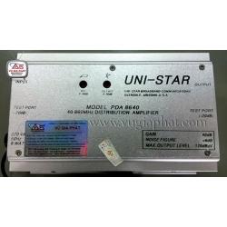 Hướng dẫn lắp đặt cân chỉnh bộ khuếch đại UNI-STAR PDA 8640