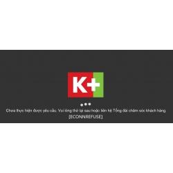 K+ TV Box - [ECONNREFUSE]