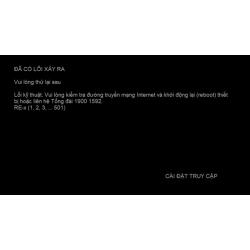 K+ TV Box - Đường truyền Internet và khởi động lại [CO-01/02/03...]