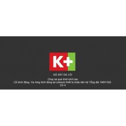K+ TV Box - Lỗi Khởi động lại hoặc liên hệ tổng đài 1900 1592. [CE-1/2/3/4/5]