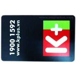 Phôi Thẻ Truyền Hình Số K+