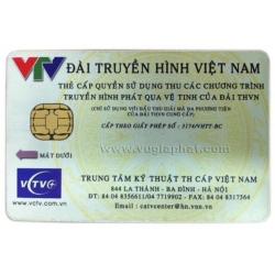 Phôi Thẻ Truyền Hình Số VCTV (DTH)