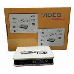 Bộ Chuyển Đổi Tín Hiệu HD To VGA
