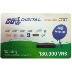 Thẻ Cào Gia Hạn VTC Gói HTV (12 Tháng)