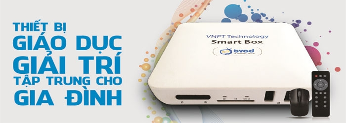Smart Box VNPT: biến TV thường thành super smart TV