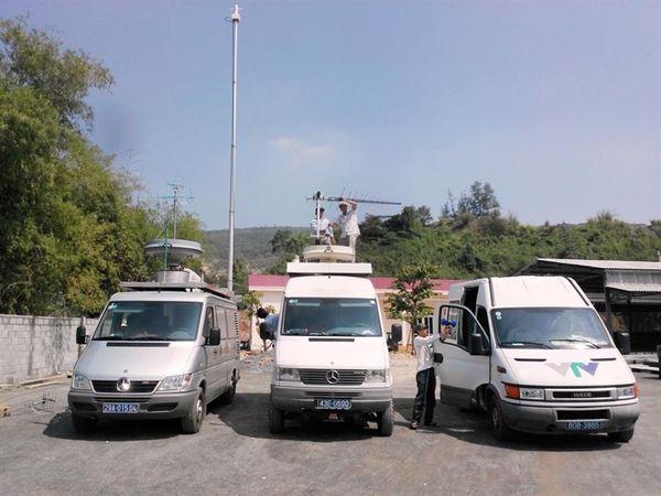 Trung tâm Tần số VTĐ khu vực đo, kiểm soát vùng phủ sóng truyền hình số DVB-T2