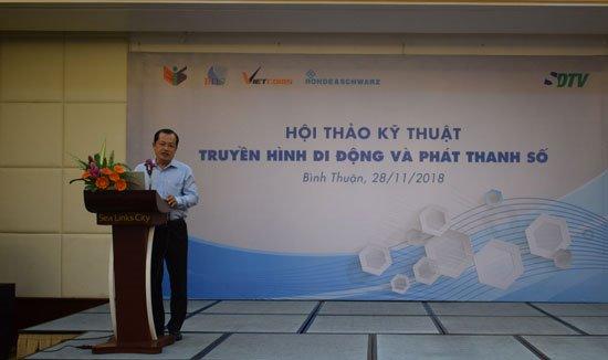Ông Nguyễn Đức Hòa, Giám đốc Công ty SDTV