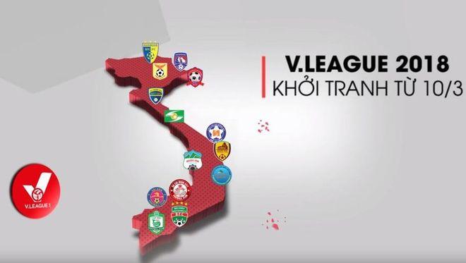 K+ mua bản quyền phát sóng giải V-LEAGUE 2018