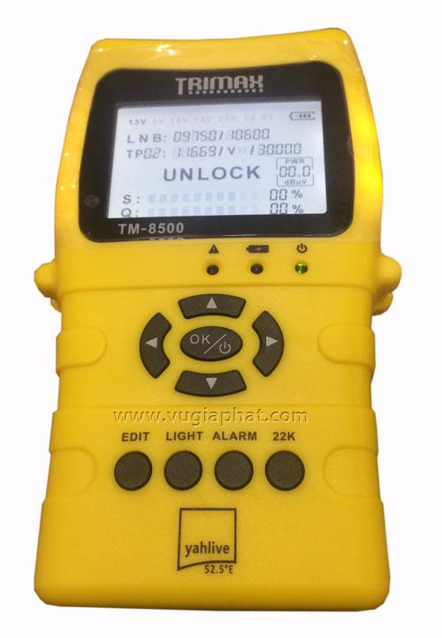 Đồng hồ đo tín hiệu vệ tinh Trimax TM-8500