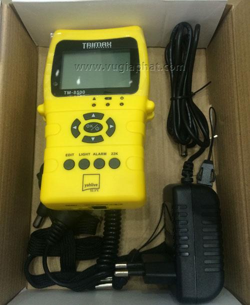 Đồng hồ đo tín hiệu truyền hình số vệ tinh Trimax TM-8500