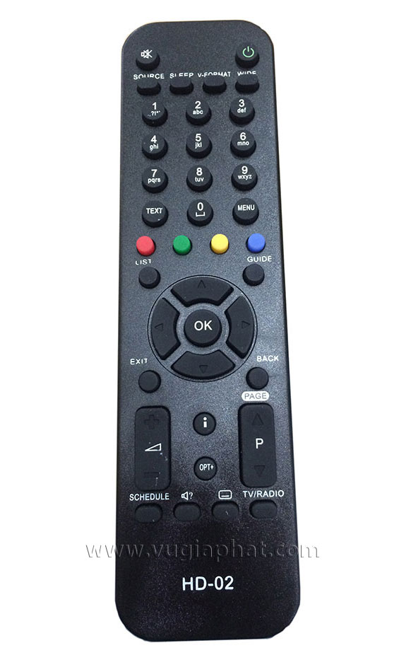 Remote VTC HD02 3